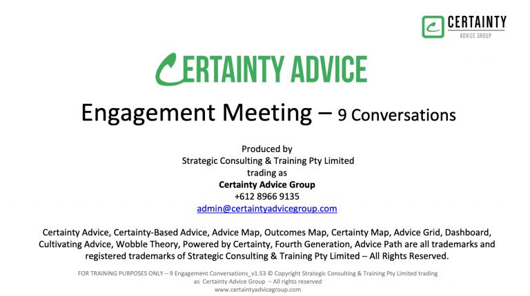 Standards #10 – Nine Engagement Conversations