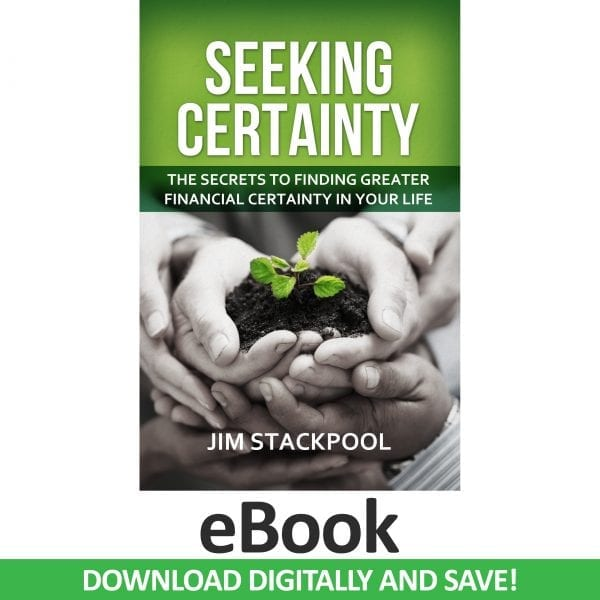 Seeking Certainty (eBook version) by Jim Stackpool