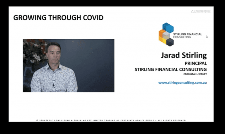 Jarad Stirling – Growing through Covid