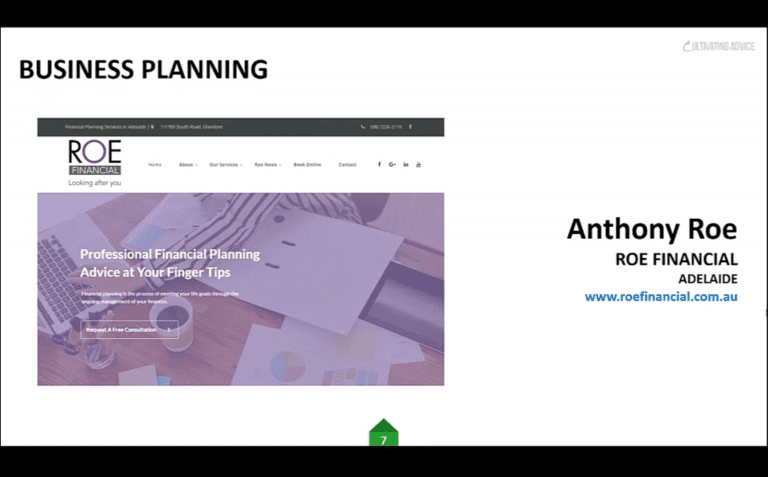 Anthony Roe – Certainty Business Planning