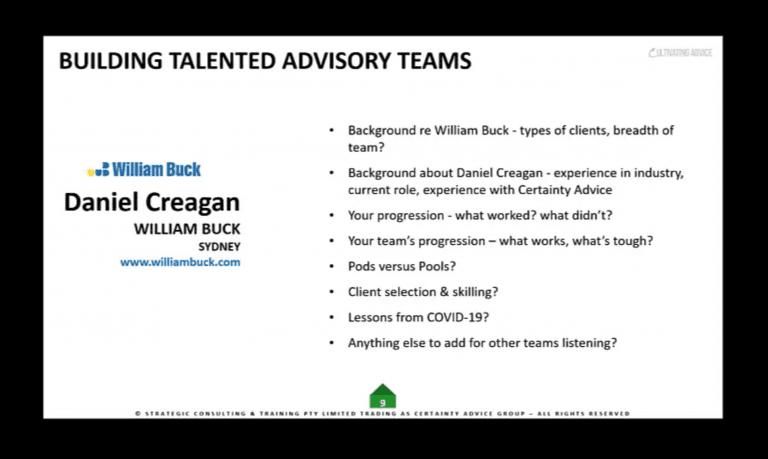 Daniel Creagan – Skilling Advisory Teams