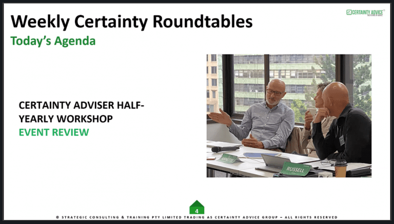 Certainty Adviser Half-Yearly Review